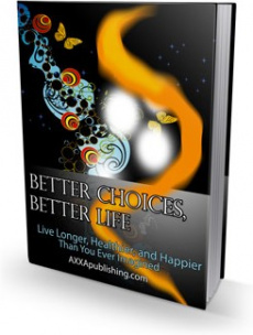 Ebook cover: Better Choices, Better Life!