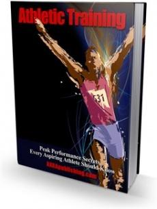 Ebook cover: Athletic Training!