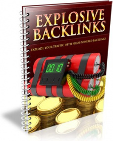 Ebook cover: Explosive Backlinks