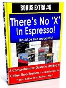 Ebook cover: There's No 'X' in Espresso!
