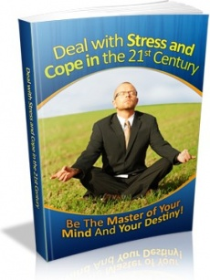 Ebook cover: Deal with Stress and Cope in the 21st Century