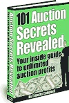 Ebook cover: 101 Auction Secrets Revealed