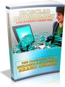 Ebook cover: Ironclad Psychology For Internet Marketers