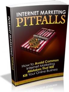 Ebook cover: Internet Marketing Pitfalls!