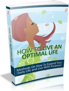 Ebook cover: How to Live an Optimal Life