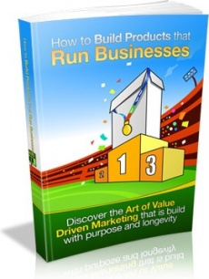 Ebook cover: How to Build Products that Run Businesses