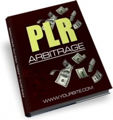 Ebook cover: PLR Arbitrage