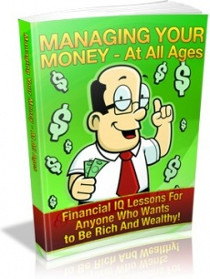 Ebook cover: Managing Your Money For All Ages