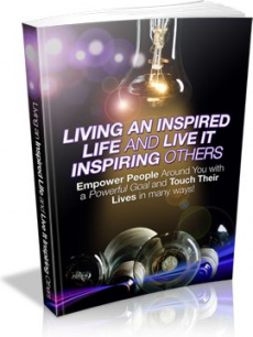 Ebook cover: Living an Inspired Life and Inspiring Others