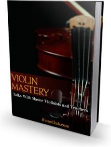 Ebook cover: Violin Mastery!
