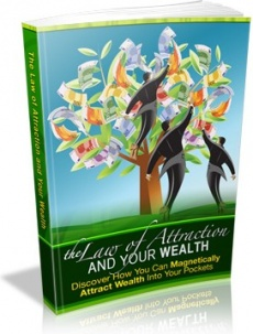 Ebook cover: The Law of Attraction and Your Wealth