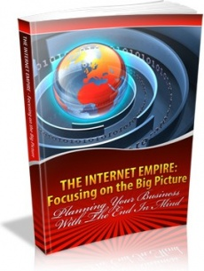 Ebook cover: The Internet Empire Focusing on the Big Picture