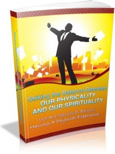 Ebook cover: Striking the Balance between Your Physicality and Your Spirituality