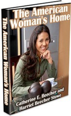 Ebook cover: The American Woman's Home