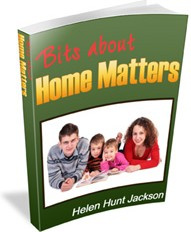 Ebook cover: Bits about Home Matters