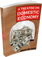 Ebook cover: A Treatise on Domestic Economy