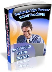 Ebook cover: Unleash the Power of Ad Tracking