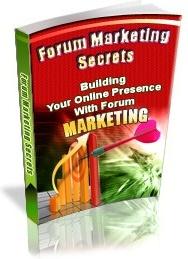 Ebook cover: Forum Marketing Secrets