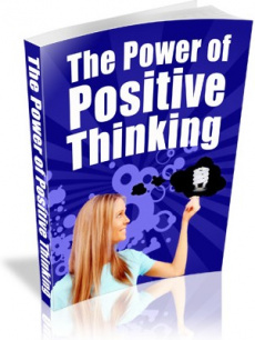 Ebook cover: The Power Of Positive Thinking