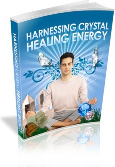 Ebook cover: Harnessing Crystal Healing Energy