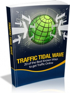 Ebook cover: Traffic Tidal Wave!
