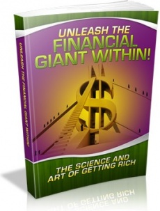 Ebook cover: Unleash The Financial Giant Within!