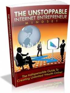 Ebook cover: The Unstoppable Internet Entrepreneur Mindset