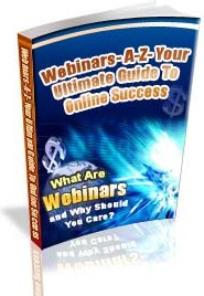Ebook cover: Webinars A-Z