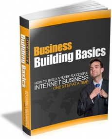 Ebook cover: Business Building Basics