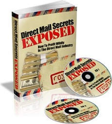 Ebook cover: Direct Mail Secrets Exposed
