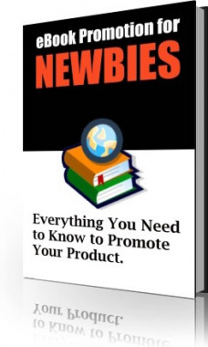 Ebook cover: eBook Promotion for NEWBIES