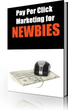 Ebook cover: Pay Per Click Marketing for NEWBIES