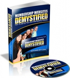 Ebook cover: Membership Websites Demystified