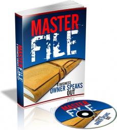 Ebook cover: Master Files