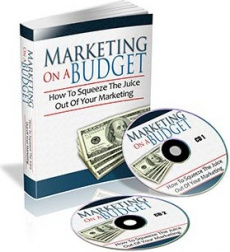 Ebook cover: Marketing On A Budget