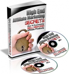 Ebook cover: High End Affiliate Marketing Secrets