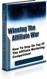Ebook cover: Winning The Affiliate War