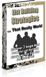 Ebook cover: List Building Strategies That Really Work