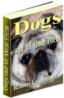 Ebook cover: Dogs and All About Them