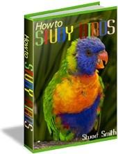 Ebook cover: How-to Study Birds