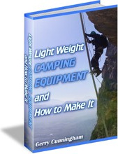 Ebook cover: Light Weight Camping Equipment and How to Make It