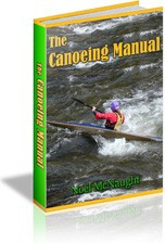 Ebook cover: The Canoeing Manual