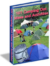 Ebook cover: 101 Camping-Out Ideas and Activities