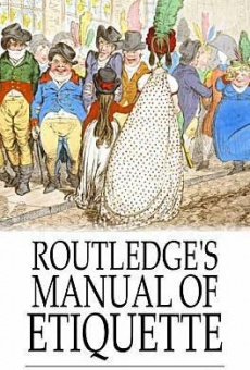 Ebook cover: Routledge's Manual of Etiquette
