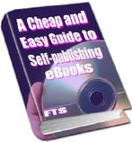 Ebook cover: A Cheap And Easy Guide to Self-publishing