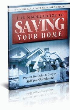 Ebook cover: The Simple Guide to Saving Your Home!