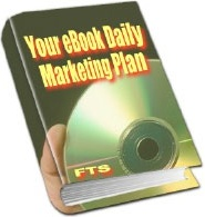 Ebook cover: Your eBook Daily Marketing Plan