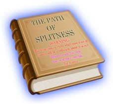Ebook cover: The Path of Splitness