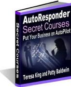 Ebook cover: AutoResponder Secret Courses