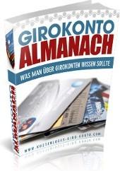 Ebook cover: Girokonto Almanach